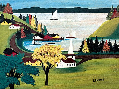 Smith's Cove Print   Maud Lewis   Art Gallery of NS