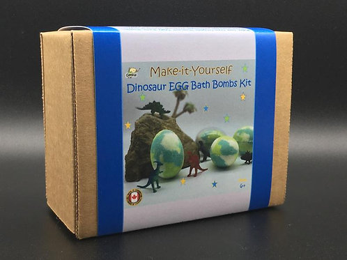 DIY Dinosaur Bath Bomb Kit | Genius Premium Craft Boxes