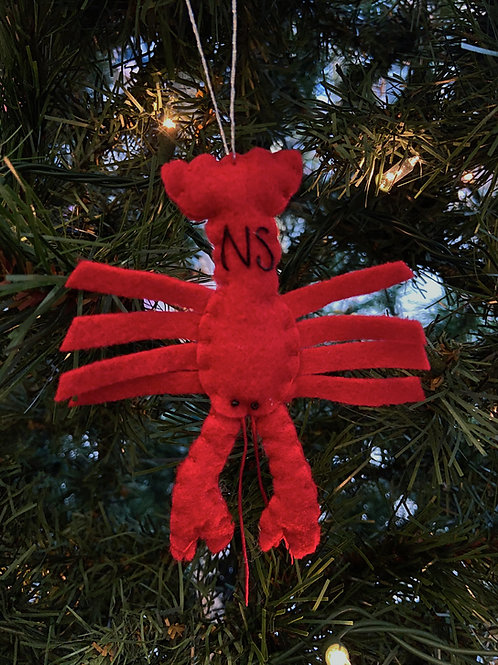 Nova Scotia Lobster Ornament | Rosemary Taylor