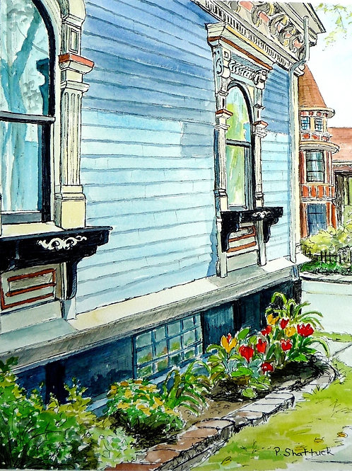 Grand Old Ladies- Original Painting   Pat Shattuck