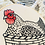 Thumbnail: Henny Penny Complete Embroidery Kit | Hook, Line + Tinker