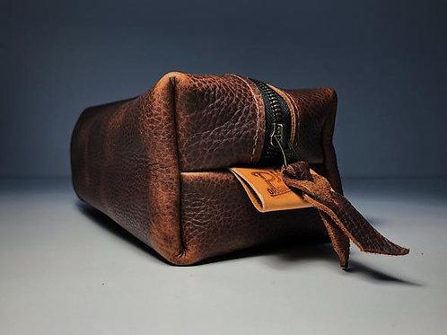 Washabuck Brown Leather Bag | Phee's Original Goods