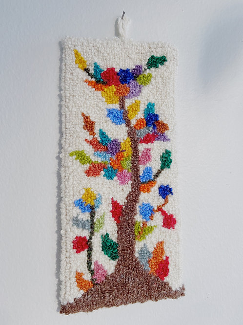 Tree of Life Hanging | Cheticamp Rug Rookin