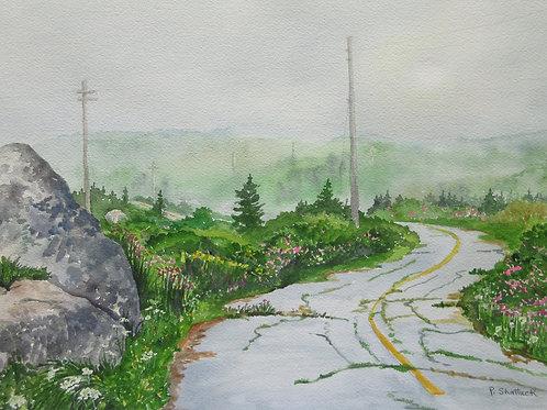 The Lighthouse Road- Original Painting | Pat Shattuck
