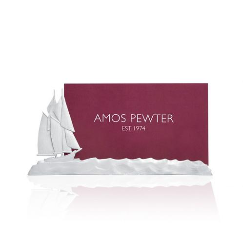 Bluenose Business Card Holder | Amos Pewter
