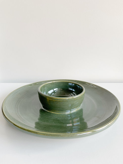 Fern Chip +  Dip | Anderson Pottery