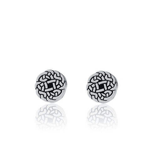 Skye Earrings | Amos Pewter