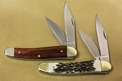 Two-Blade Folder Pocket Knife | Grohmann Knives
