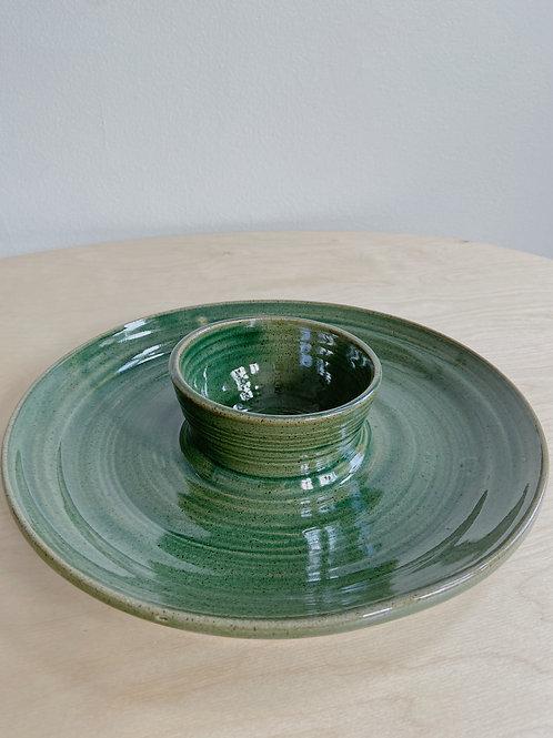 Green Chip + Dip | Postma Pottery