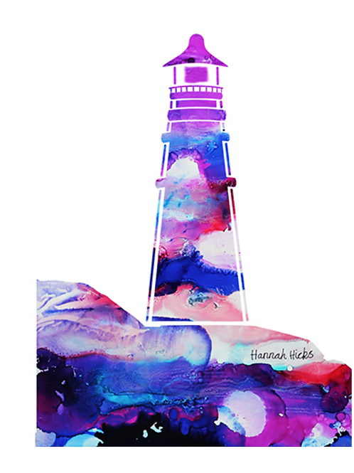 Lighthouse Card | Hannah Hicks