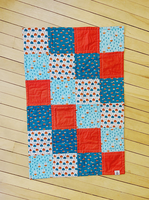 Nautical + Red Quilt | RoseBay Quilts