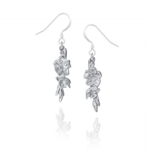 Blossom Earrings | Amos Pewter