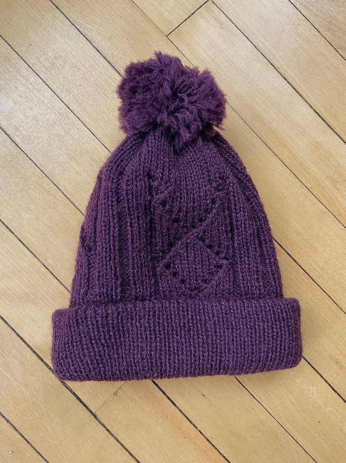 Traditional Pattern Toque - Purple | NWK