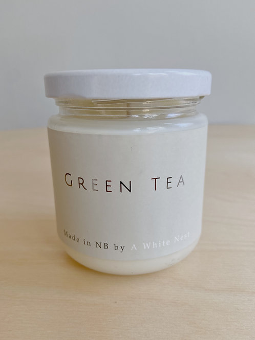 Green Tea Candle | A White Nest