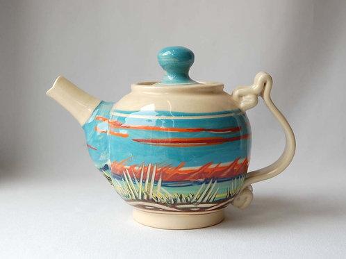 Dunes Teapot | Robert McMillan Pottery