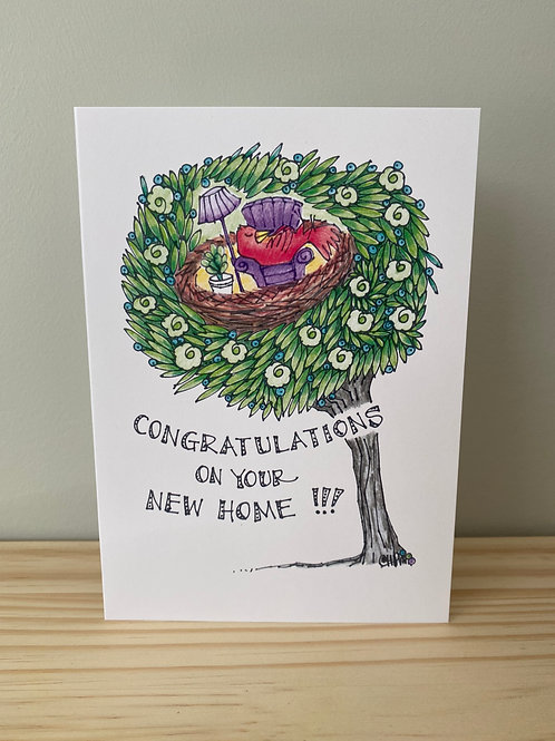 Congratulations On Your New Home Card   Helen Painter
