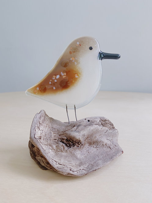 Large Standing Sandpiper   The Glass Bakery
