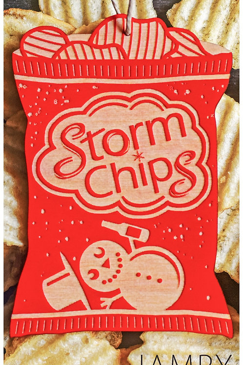 Red Storm Chips Ornament | Jampy
