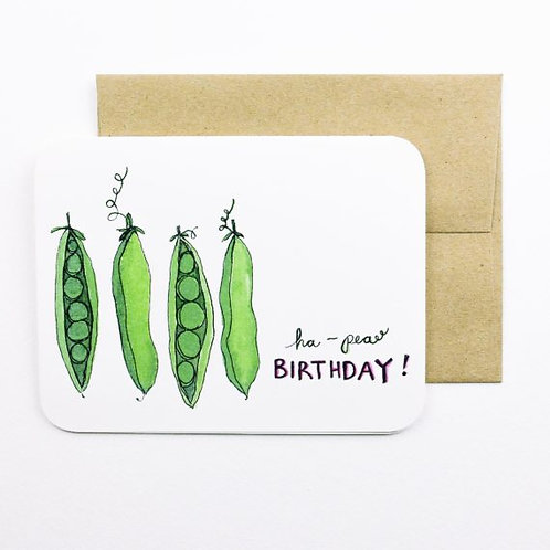 Ha-Pea Birthday Card | Field Day Paper