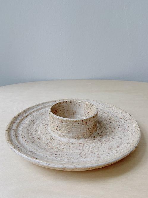 Wheat Dip Dish | Postma Pottery