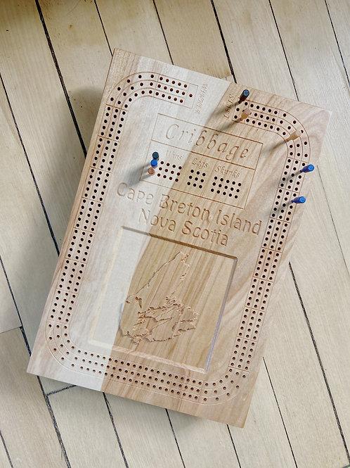 Cape Breton Cribbage Board | McAskill Woodworking