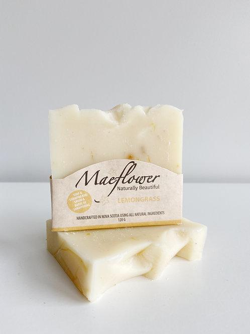 Lemongrass Soap | Maeflower + The Way Botanicals