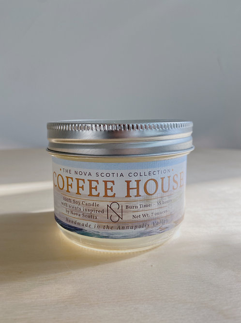 Coffee House Candle | New Scotland Candle Co.