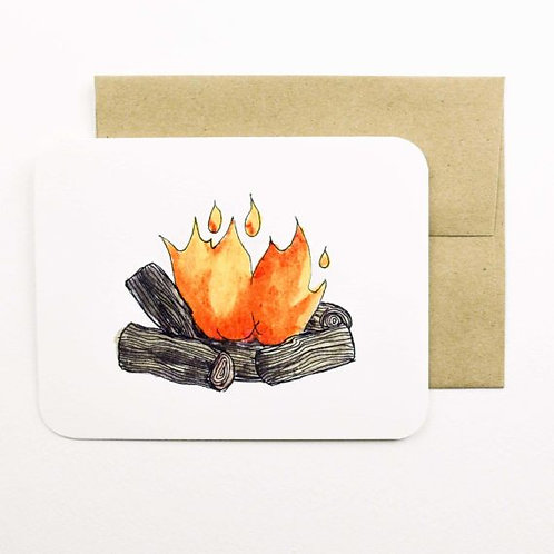 Fire Card | Field Day Paper