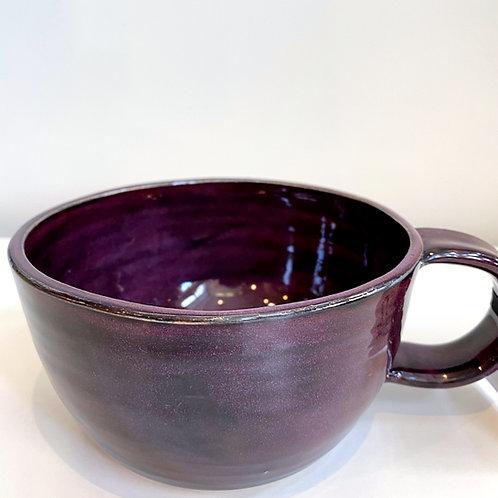 Merlot Latte Mug | Anderson Pottery