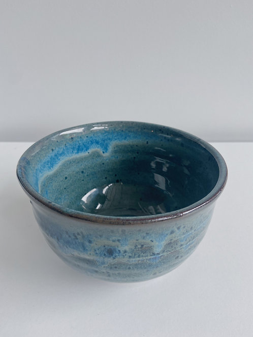 Sea Blue Small Bowl | Sea Winds Pottery