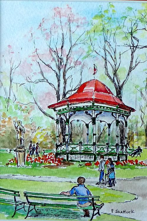 Spring in the Public Gardens | Pat Shattuck