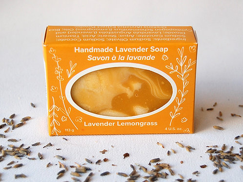 Lavender Lemongrass Soap | Seafoam Lavender Co.
