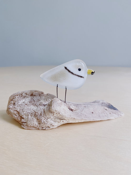 Small Standing Plover | The Glass Bakery