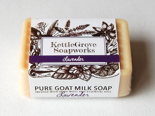 Lavender Goat Milk Soap | Kettlegrove Soapworks