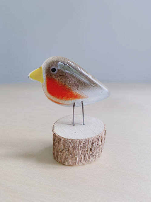 Small Standing Robin   The Glass Bakery