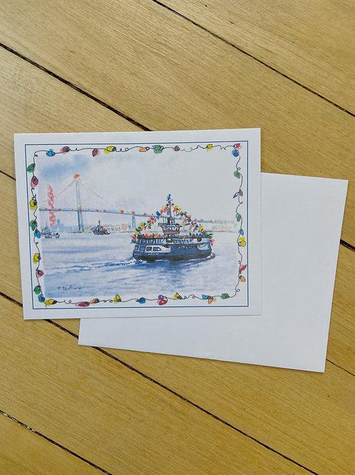 Halifax Harbour Christmas Card | Pat Shattuck