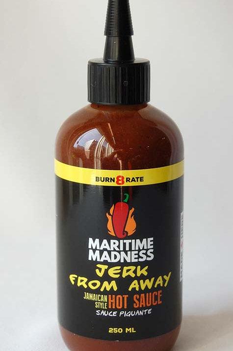 Jerk From Away Hot Sauce | Maritime Madness