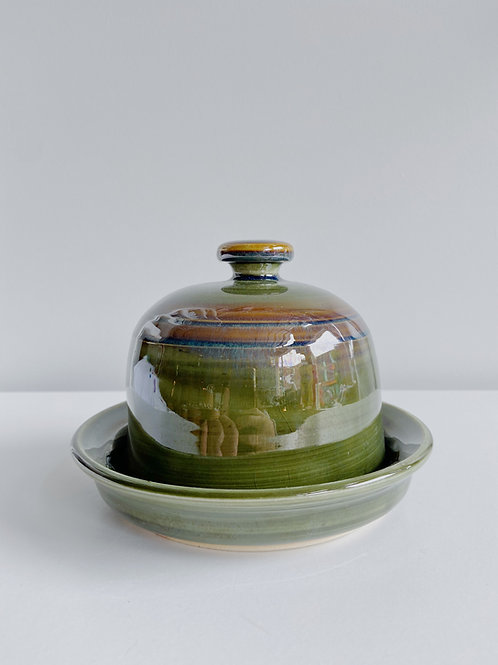Marshland Butterdish | Sea Winds Pottery