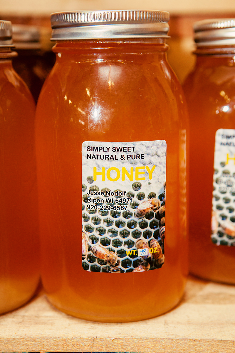 Locally produced honey