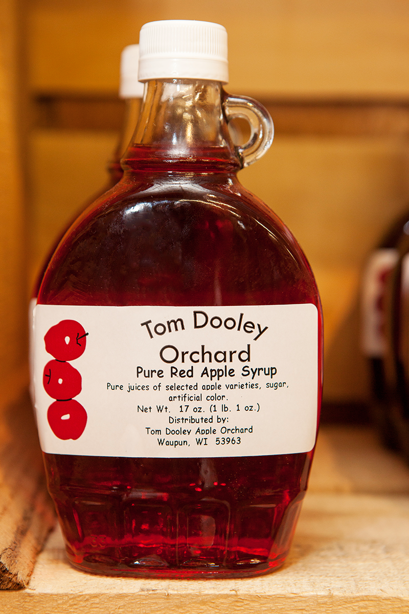 Locally Produced Apple Syrup