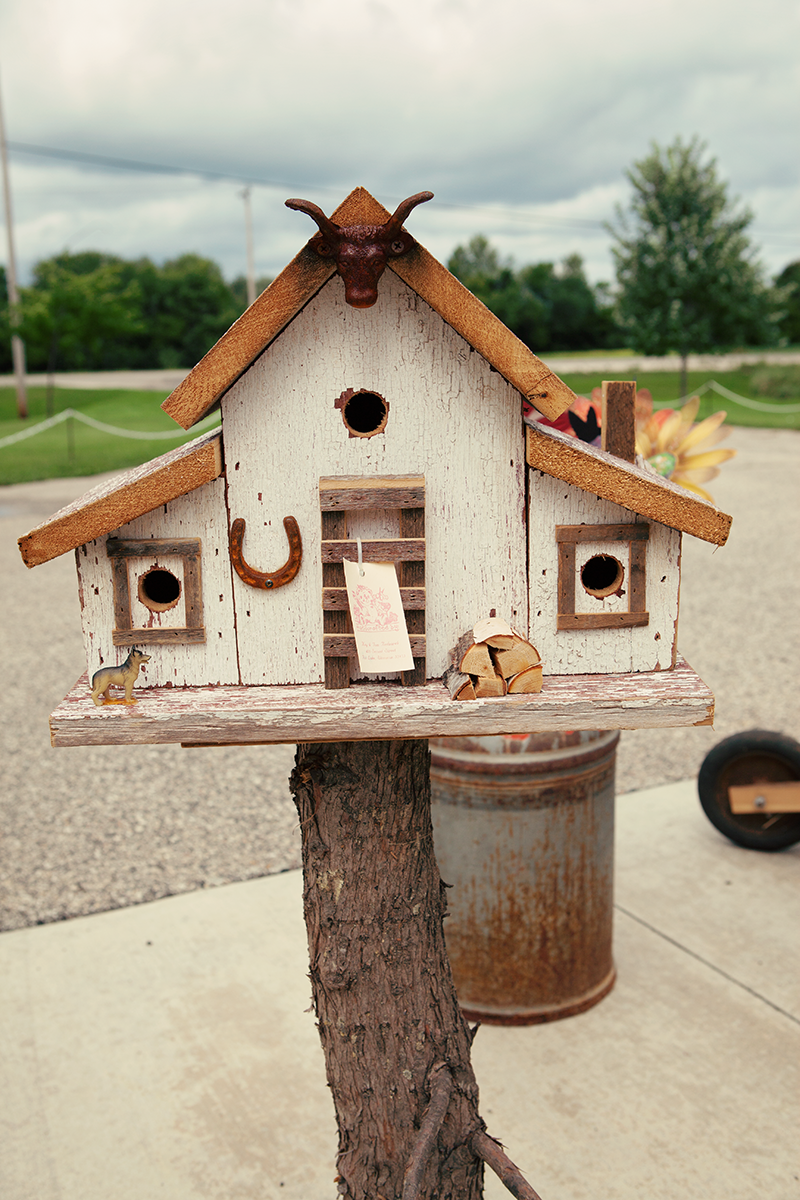 Handcrafted Birdhouse