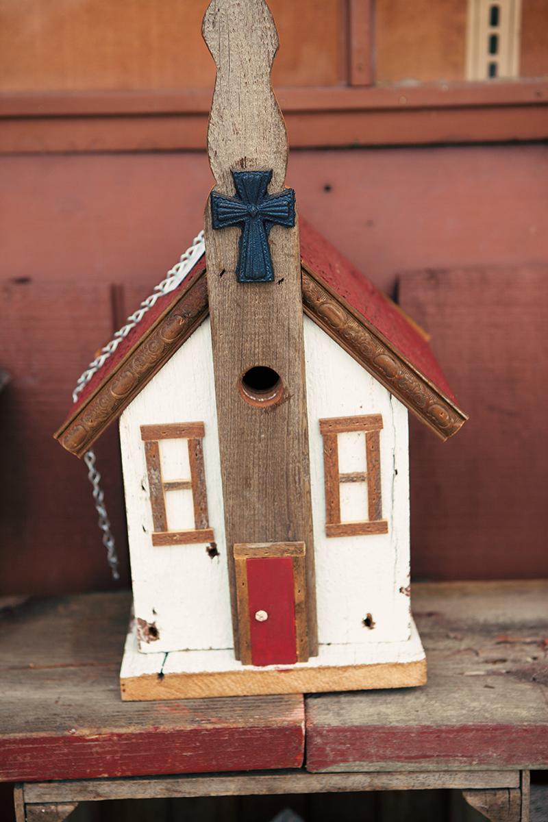Handcrafted Birdhouse