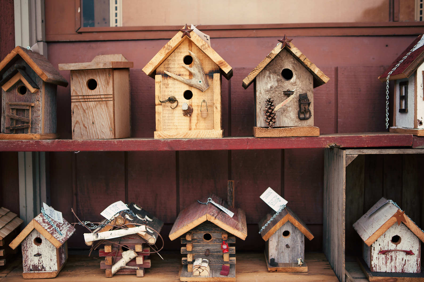 Handcrafted Birdhouses