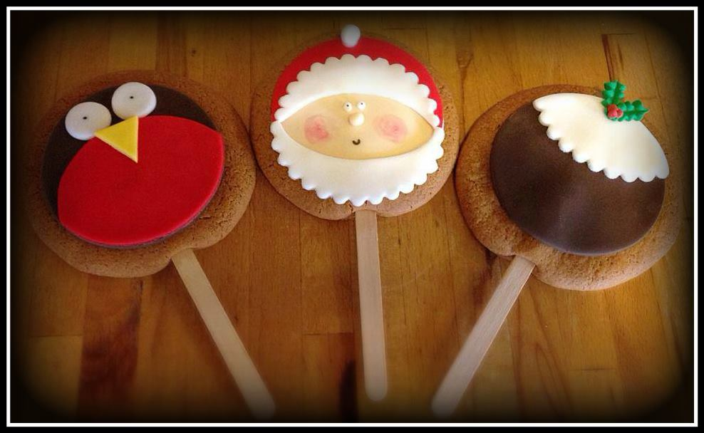 Gingerbread Lollies