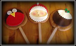 Gingerbread Lollies