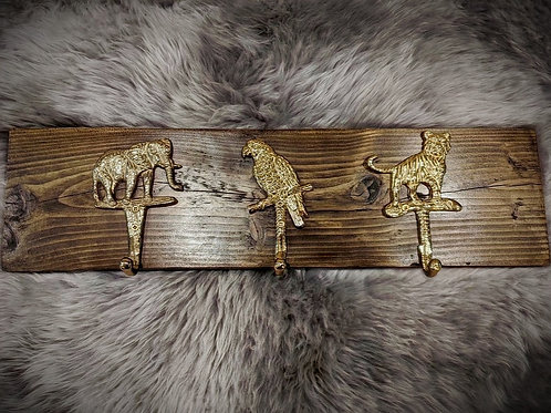 Animal Theme Coat Rack