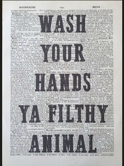 'Wash Your Hands...'