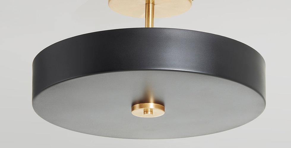 Plafon de lineas clásicas con iluminación difusa