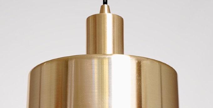 Colgante diseño cilindrico bronce