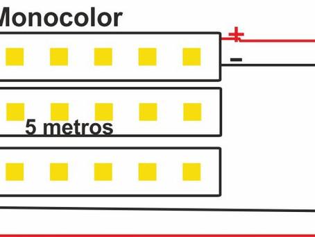 COMO SE CONECTA UN AMPLIFICADOR CON TIRAS LED